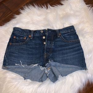 Levi's 501 Cutoff Jean Shorts Size 26